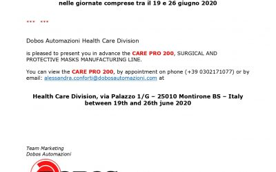 invitation care PRO 200  Copia